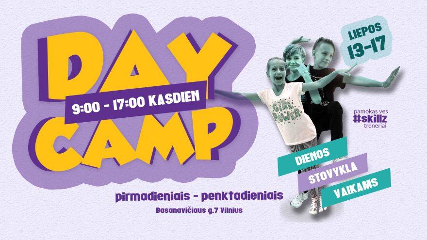 SKILLZ vasaros dienos stovykla vaikams 2020