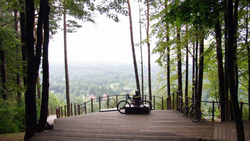 Turas aplink Vilnių kalnų dviračiais