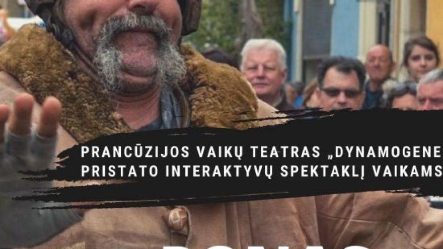 """Prancūzijos vaikų teatras """"Dynamogene"""" (Nimas): """"Ponas Linguolis (Mister Culbuto)"""""""