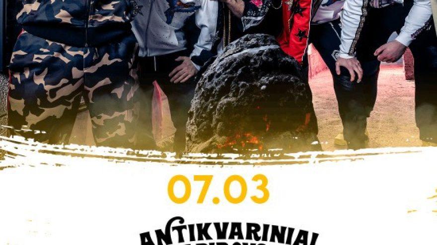 """""""Antikvariniai Kašpirovskio dantys"""": Antimaterinis koncertas   Palanga"""