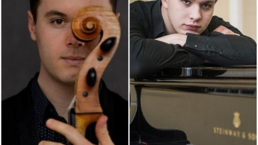 SAM LUCAS (violončelė, Australija-Vokietija), PAULIUS ANDERSSON (fortepijonas, Lietuva- Danija)