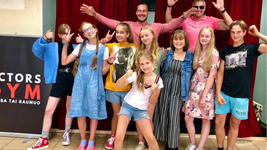 """""""Actors Gym"""" kino mokykla pristato:  Kino ir Teatro  studija vaikams ir jaunimui!"""