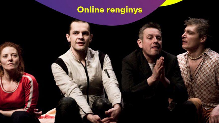 """ONLINE: OKT   Vilniaus miesto teatras:  """"Shopping and fucking""""  (rež. Oskaras Koršunovas)"""