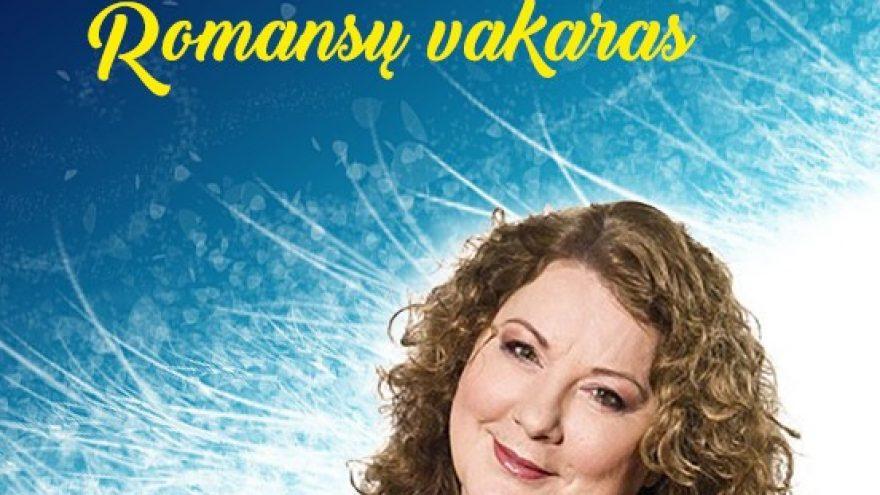 Aktorė LARISA KALPOKAITĖ ROMANSŲ VAKRAS