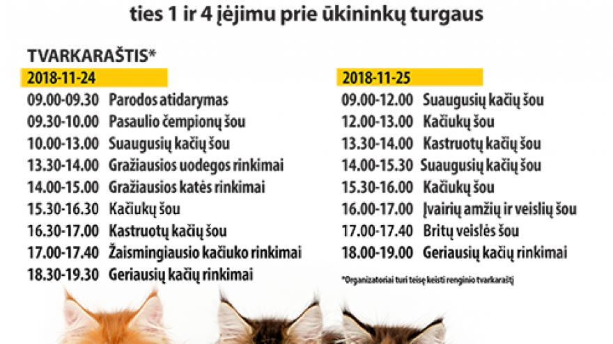 Pasaulinė kačių paroda Belamur