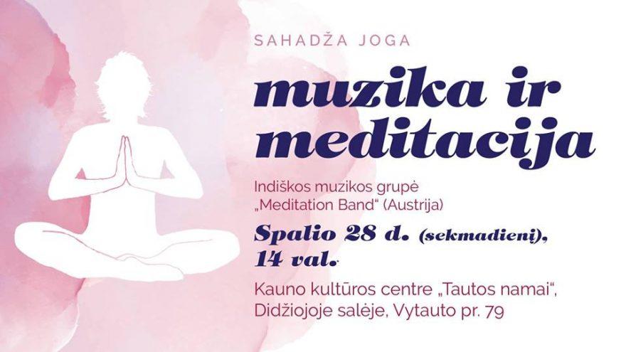 Sahadža joga. Muzika ir meditacija