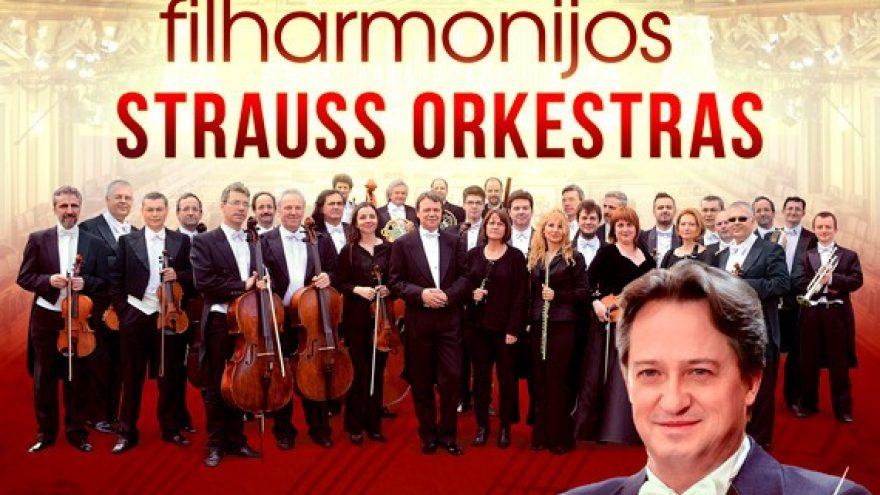 (Perkeltas) (KLAIPĖDA) Vienos Filharmonijos Štrauso Orkestras