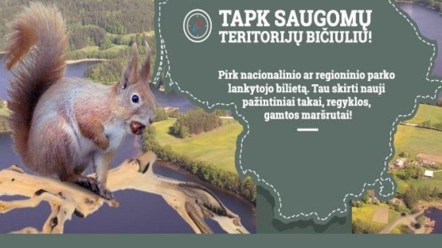 Salantų regioninio parko lankytojo bilietas