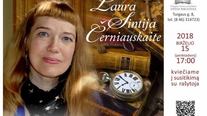Susitikimas bibliotekoje su rašytoja Laura Sintija Černiauskaite