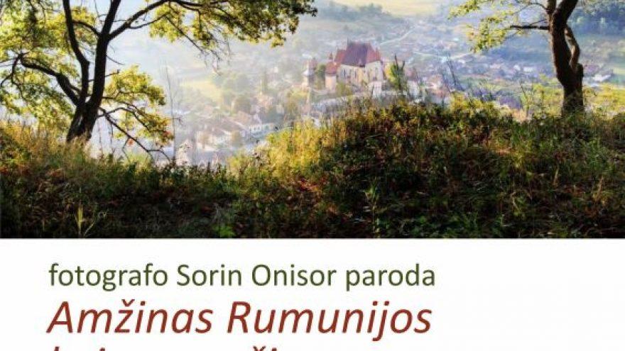 """Fotografo Sorin Onisor paroda """"Amžinasis rumunijos kaimo grožis"""""""