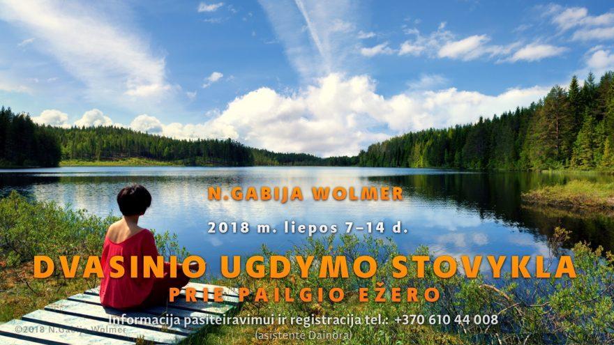 Dvasinio ugdymo stovykla prie Pailgio ežero