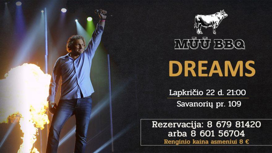 "Pop-rock'o muzikos grupė ""Dreams"" | MŪŪ BBQ"