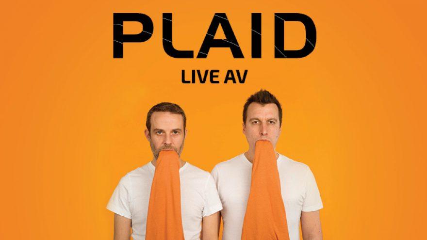 PLAID – britų elektroninės muzikos duetas: Live AV