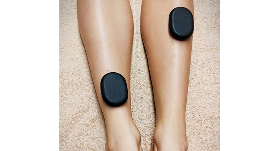 Gydomasis limfodrenažinis masažas + pėdų masažas