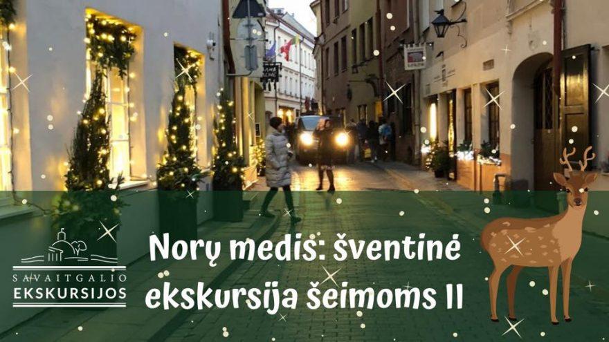 Norų medis: kalėdinė ekskursija šeimoms II