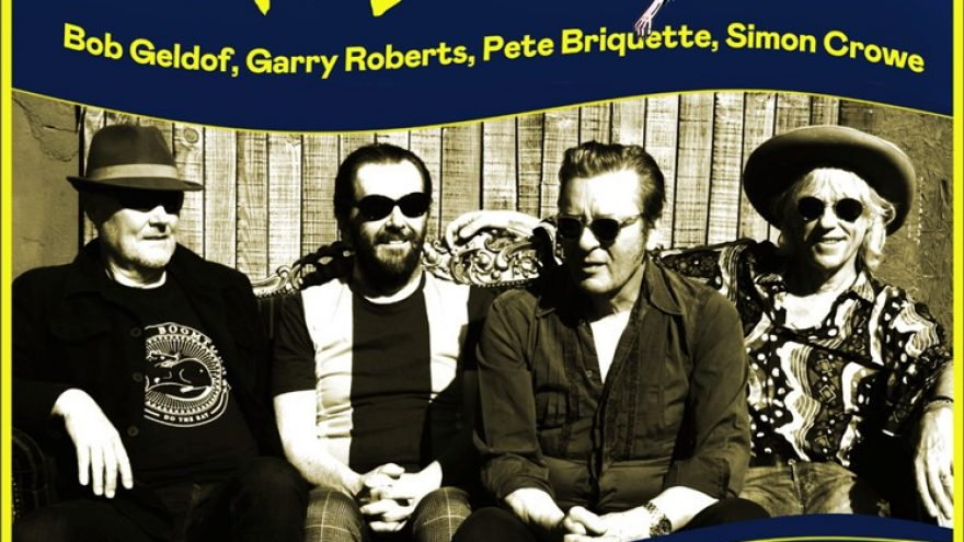 THE BOOMTOWN RATS, featuring Bob Geldof, Garry Roberts, Pete Briquette and Simon Crowe