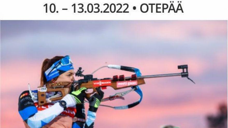 LAUPÄEV 1-päeva pilet / SATURDAY 1 Day Ticket / BMW IBU World Cup Biathlon Otepää