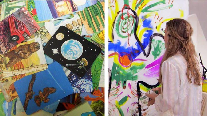 Vidinių vaizdinių tyrinėjimas meno terapijos metodai