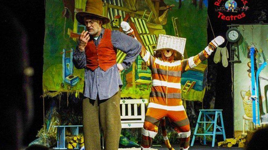 """Spektaklis vaikams """"Katino Finduso staigmena"""""""