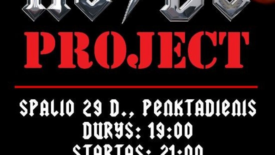 Helloween Party With AC/DC Project