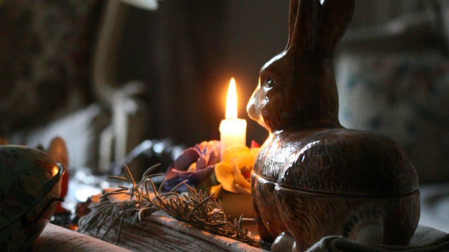Velykinės žvakės gamyba