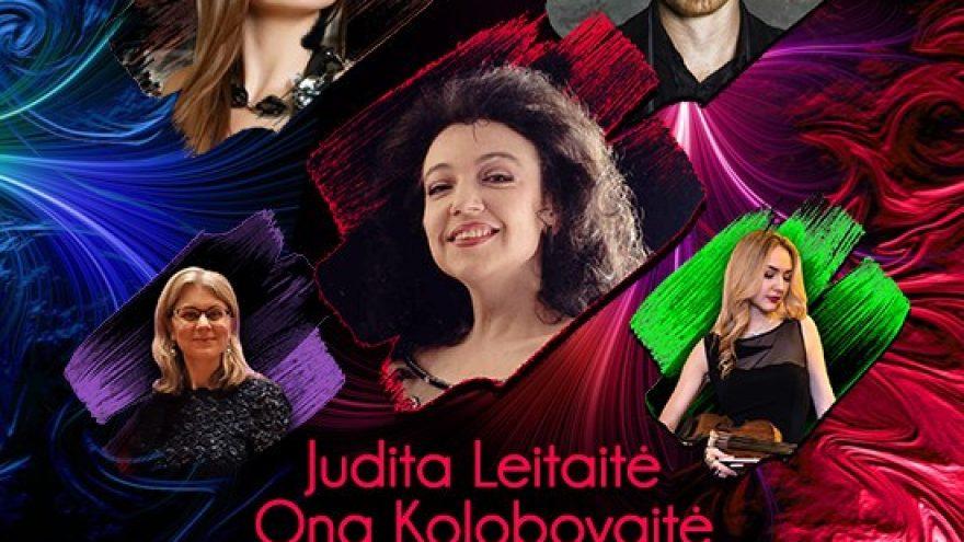 J. Leitaitė, O. Kolobovaitė, E. Bavikinas. Muzika sielai