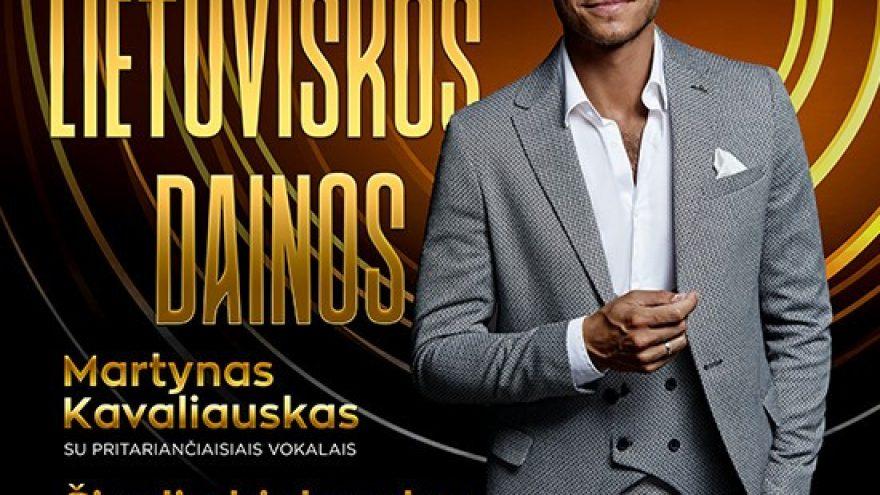 (TAURAGĖ) Legendinės lietuviškos dainos. Martynas Kavaliauskas ir Šiaulių bigbendas