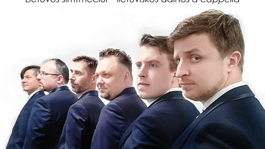 Lietuvos šimtmečiui – lietuviškos dainos a cappella