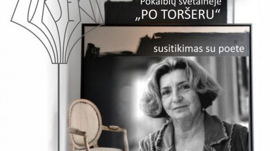 Susitikimas su poete Gerda Jankevičiūte