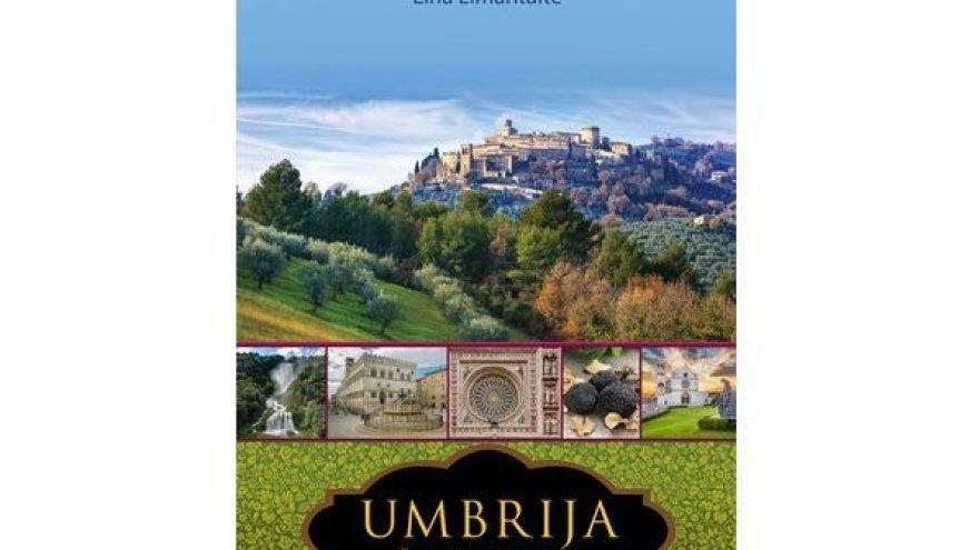 """Virtualus Linos Limantaitės knygos """"Umbrija. Žalioji Italijos širdis"""" pristatymas"""