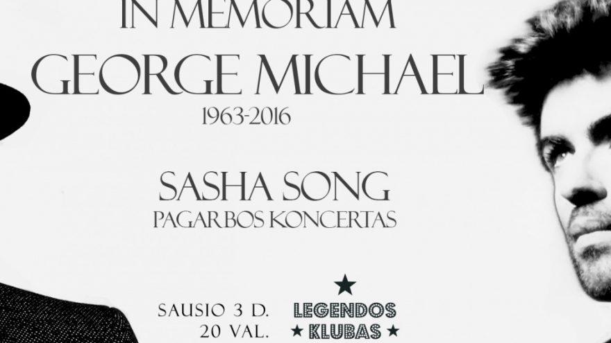 George Michael in Memoriam