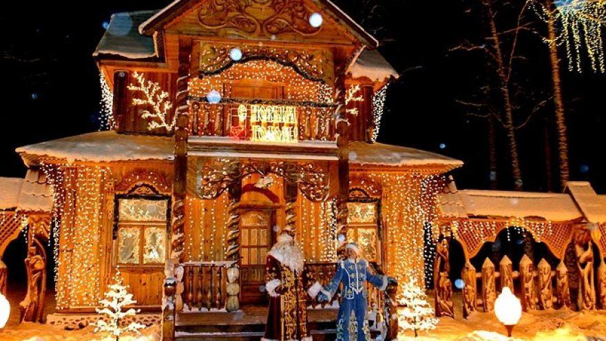 Ekskursija pas Kalėdų Senelį (Baltarusija)