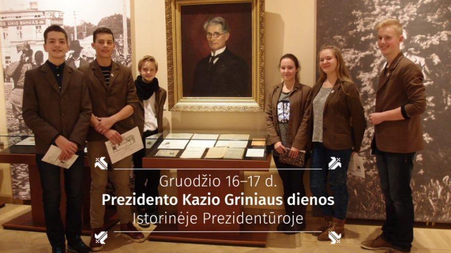 Prezidento Kazio Griniaus dienos