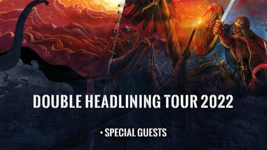 DARK TRANQUILLITY & ENSIFERUM + special guests Double Headlining Tour 2022