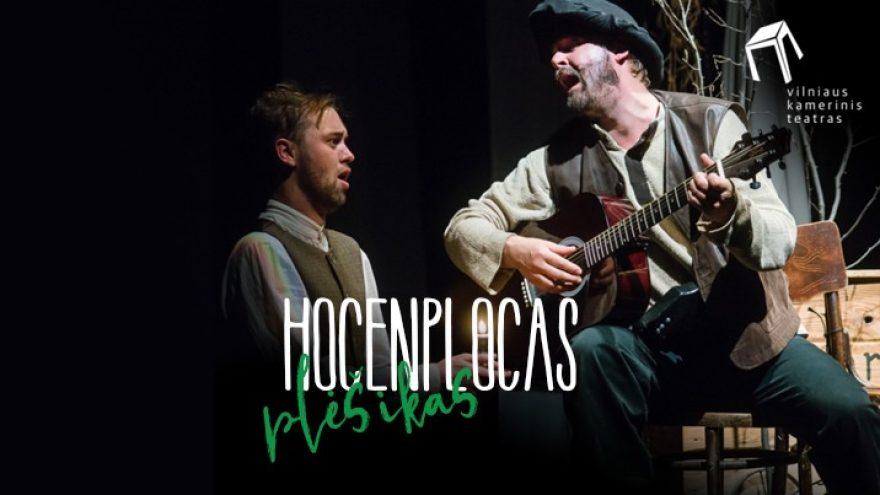 """Spektaklis """"Plėšikas Hocenplocas"""" Įėjimas į renginį tik turint Galimybių pasą."""