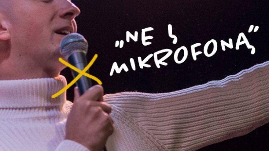"""Justino Malinausko magijos vakaras """"Ne į mikrofoną"""". Teatras KITAS KAMPAS"""