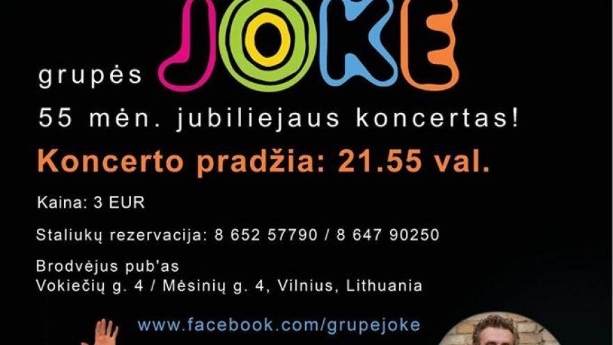 Jubiliejinis JOKE koncertas!
