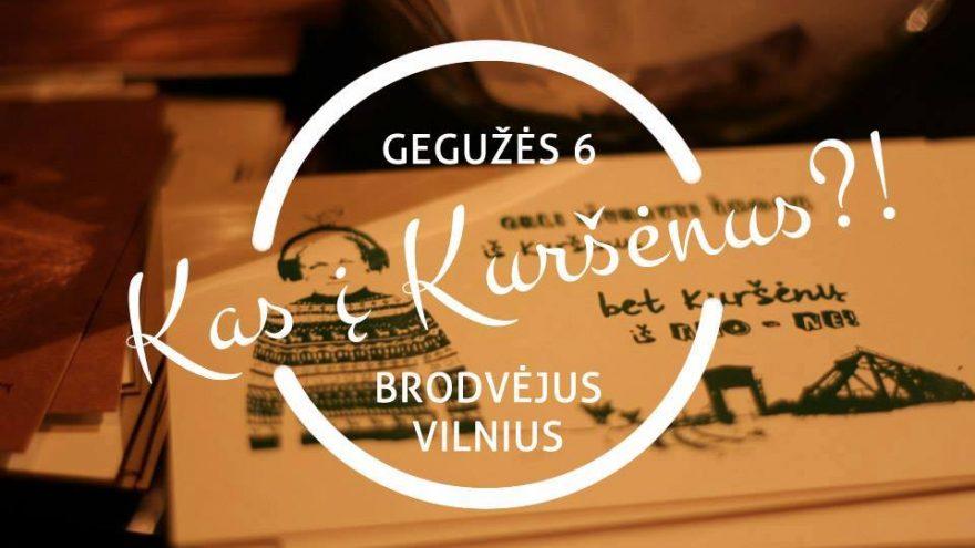 """Kuršėniškių vakarėlis Vilniuje """"Kas į Kuršėnus?!"""""""