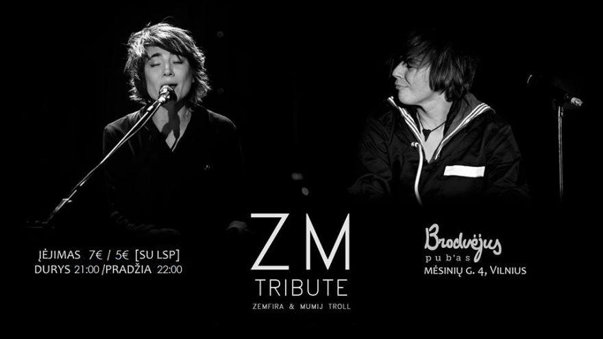 ZEMFIRA & MUMIJ TROLL tribute @Brodvėjus Pub |02.13|