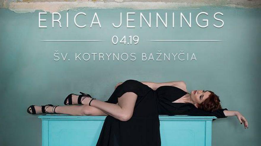Erica Jennings | Akustinis koncertas