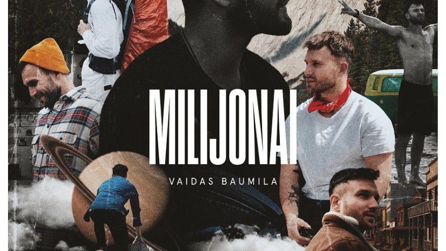 "Vaidas Baumila ""Milijonai"" (Vinilas)"