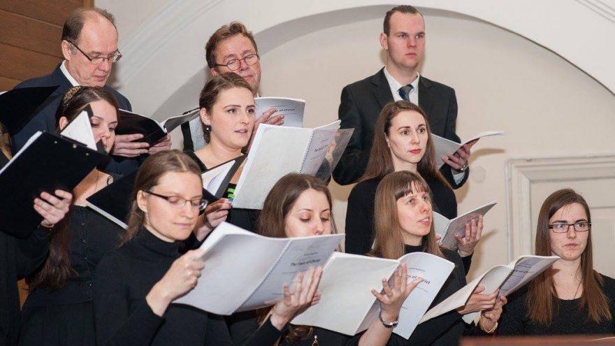 """V. Augustino """"The Face of Christ"""" koncertas atlieka mišrus jaunimo choras EXAUDI"""
