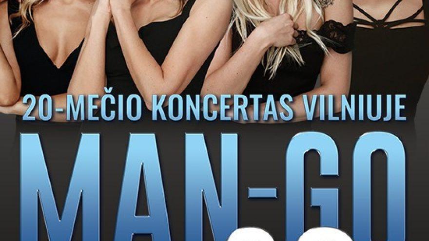MANGO 20-mečio koncertas | Vilnius