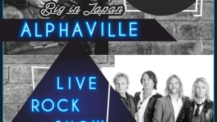 LIVE ROCK SHOW: ALPHAVILLE, SECRET SERVICE