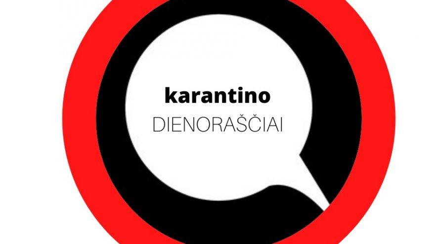Premjera! Karantino dienoraščiai (rež. Aidas Giniotis) Teatras Atviras ratas I Vilniaus miesto teatras