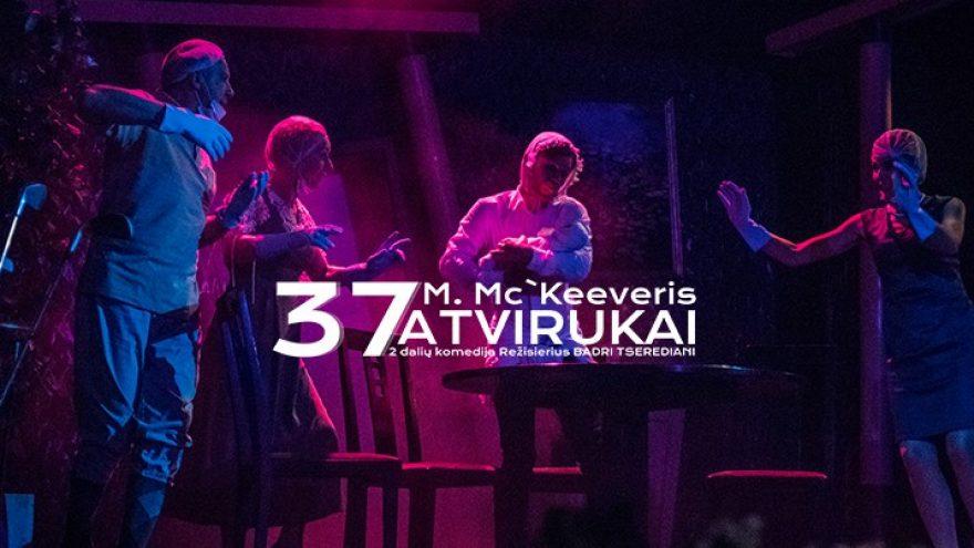 "Panevėžio teatras ""Menas"", rež. Badri Tserediani: ""37 atvirukai"""