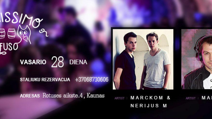 Vinissimo Penktadienis: Marckom & Nerijus M meets Margelli