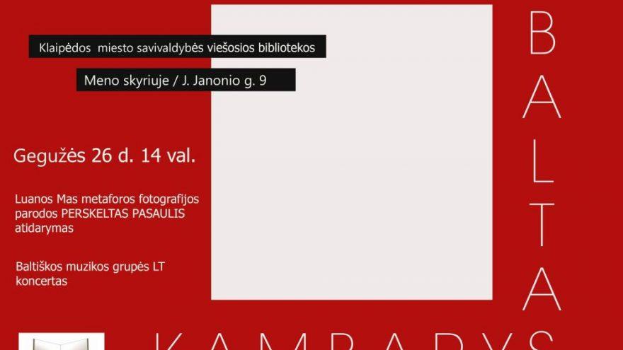 """Žurnalo """"Baltas kambarys"""" pristatymo popietė"""
