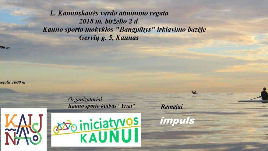 L. Kaminskaitės vardo atminimo regata