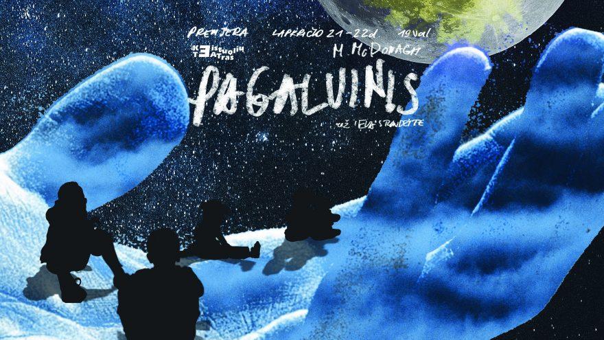 """KEISTUOLIAI   M. McDonagh """"Pagalvinis"""" Festivalis 42-asis LIETUVOS TEATRŲ PAVASARIS"""